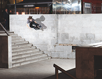 Carhartt WIP skateboarding ad