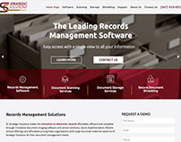 Strategic Solutions Website Redesign