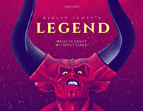Legend Alternative Movie Poster Design