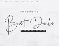 Best Deals Font | Free Demo