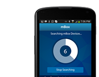 'mBox' User interface