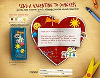 MomsRising - Send Valentine to Congress App