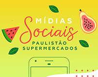 Mídias Sociais | Paulistão Supermercados