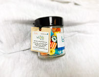 Energy (طاقات) Student's sweet jar Design & Pkg.