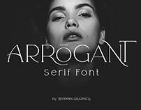 Arrogant Serif Font