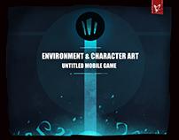 Untitled Mobile Game Art! (Concept-Asset)