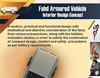 Fahd Armored Vehicle Interior Design Concept