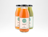 COWHERDS JUICERY - CO-BRANDED JUICE LABELS (GINO)