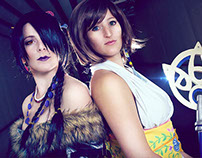 Yuna and Lulu cosplay, Final Fantasy X
