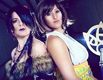 Yuna and Lulu cosplay, Final Fantasy X