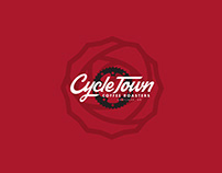 Cycle Town Coffee Rebrand