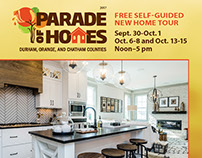 2017 Parade of Homes, Durham, Orange, Chatham counties