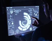 Future Hologram UI HUD