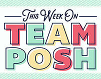 Team Posh Facebook Banners