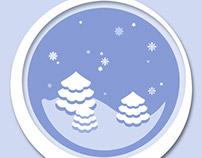 Snowy Globe.