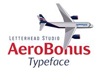 AeroBonus Typeface