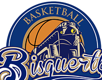 Bisquertt basketball team logo
