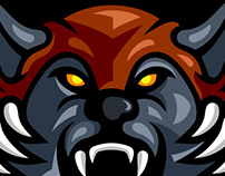 URSA WARRIOR GAMING LOGO | SPORTS LOGO | MASCOT LOGO