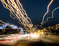 Chaotic city lights 2017