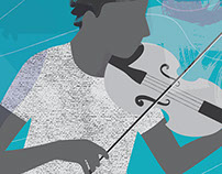 Student Musician Illustrations