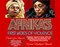 Afrika's 1st ladies of violence Editorial layouts