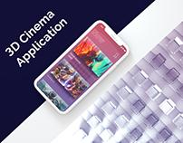 3D Cinema App