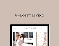 Lofty Living Squarespace Website