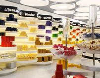 INTERNI, MODELLO _ Candy Store
