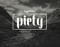 Piety // Typeface