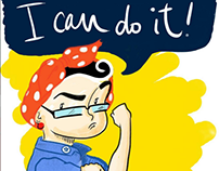 (Illustration) We Can Do It
