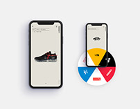 """""""Shoeciety"""" - Sneakers App Concept"""