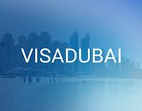Visa Dubai • Landing page