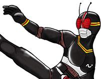 Black Kamen Rider Air Style