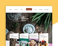 Snowee Website Design