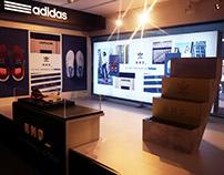 Escaparate de Adidas Nomad en IT Rambla (Barcelona)