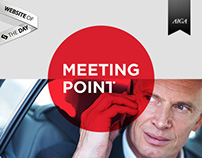 Meeting Point - visual ID and website design