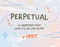 """""""PERPETUAL"""" (free* font)"""