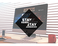Stay Rebel, Stay Barbarian - Landing Page