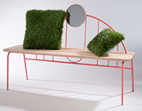 Space Age Bench