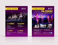 Dance School - posters & flyer