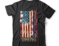 Fishing t shirt design