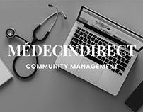 MédecinDirect : Community Management
