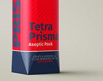 Tetra Prisma Pack (1L) Mockup Set.