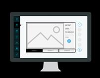 Noesis info-kiosk UI prototype