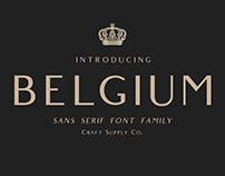Belgium - Font Family (Free Download)