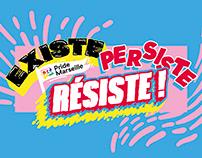 EXISTE, PERSISTE, RESISTE! / PRIDE MARSEILLE 2020