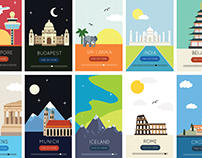 TRAVEL FLAT DESIGNS