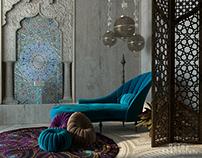 "Calm ""Rustig"" Moroccan Design"
