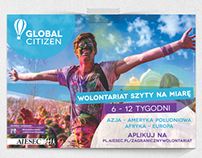 Global Citizen & Global Talents - Printed Materials