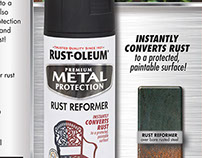 Rust Reformer Australia Label and Sell Sheet Design